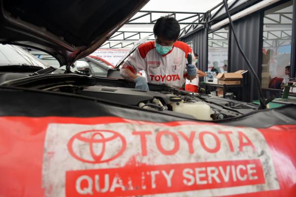 Toyota buka 307 titik layanan servis selama periode mudik