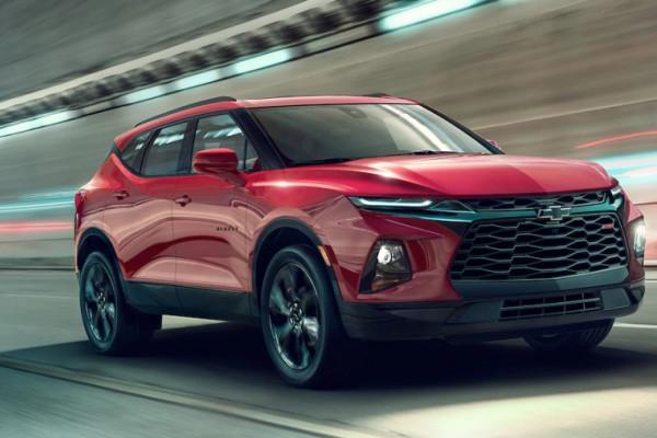 Chevrolet Blazer terbaru hanya muat lima penumpang