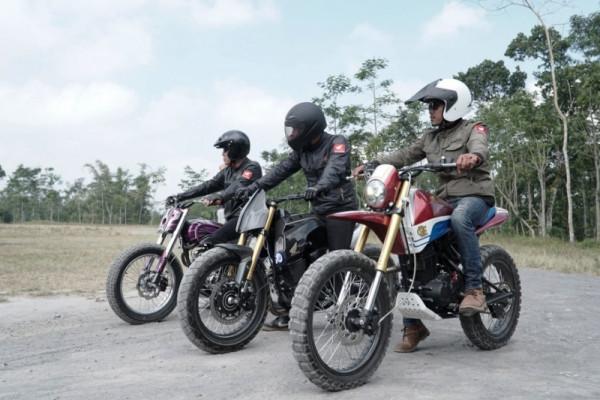 Honda CRF150L modifikasi siap jelajahi Yogyakarta