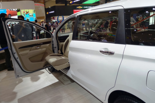 Suzuki rancang All New Ertiga Support mudahkan penumpang disabilitas