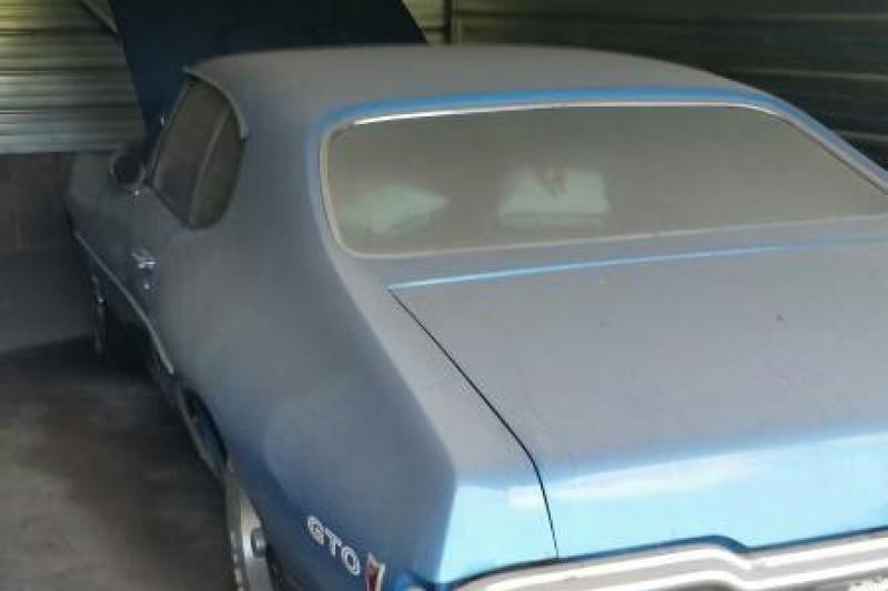 Belasan tahun di gudang, Pontiac GTO 1968 dilego 15.500 dolar