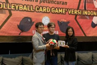 Haikyu!! Volleyball card game diluncurkan di Indonesia