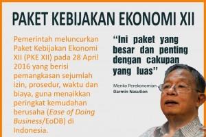 Paket Kebijakan Ekonomi XII