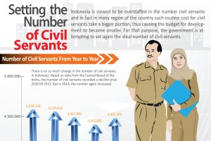 Setting  the Number of Civil Servants