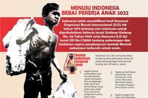 Menuju Indonesia Bebas Pekerja Anak 2022