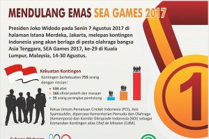Mendulang Emas SEA Games 2017