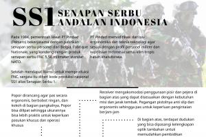 SS1 Senapan Serbu Andalan Indonesia