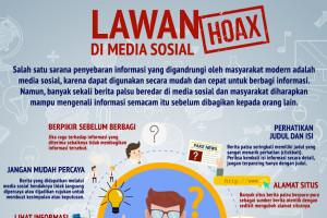 Tip menangkal hoax di media sosial