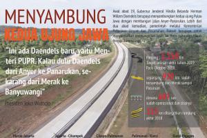 Menyambung kedua ujung Jawa