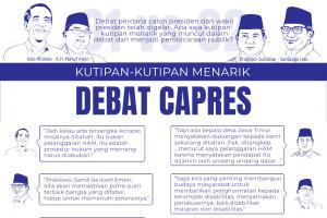 Kutipan-kutipan menarik debat capres