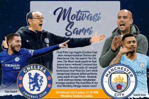 Final Piala Liga: Chelsea vs Man City