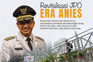 Revitalisasi JPO era Anies