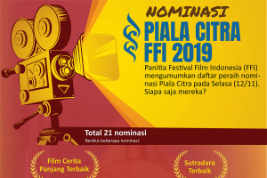 Nominasi Piala Citra FFI 2019