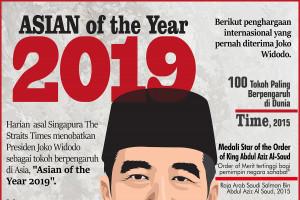 Joko Widodo, Asian of The Year 2019