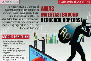 Awas investasi bodong berkedok koperasi