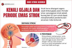 Kenali gejala dan periode emas strok
