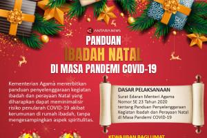 Panduan ibadah Natal di masa pandemi COVID-19