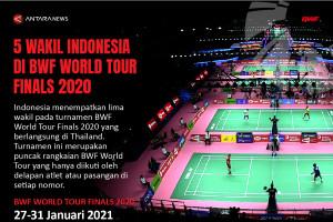 Wakil Indonesia di BWF World Tour Finalas 2020