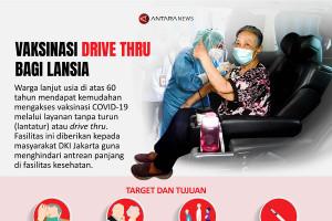 Vaksinasi drive thru bagi lansia