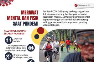 Merawat mental dan fisik saat pandemi