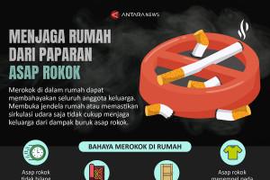 Menjaga rumah dari paparan asap rokok