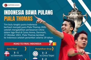 Indonesia bawa pulang Piala Thomas