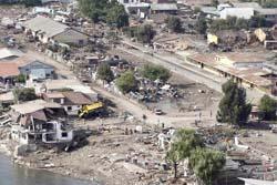 Risiko Tsunami Meningkat di Sejumlah Kota Dunia 20100305095431-gempachile-030310