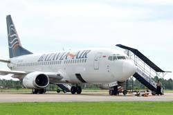 Mesin Pesawat Batavia Meledak Dua Kali di Udara
