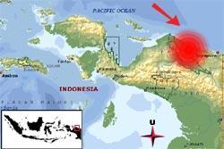 Gempa Guncang Tenggara Jayapura