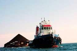 TNI-AL Amankan Kapal Pengangkut Batu Bara