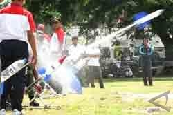 Siswa SMP Bantul Juara Lomba Roket Air