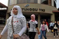 Jumlah TKI di Malaysia Terus Menurun