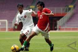 Indonesia Urutan ke-138 dari FIFA