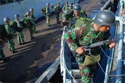 130 Marinir ke Ambalat