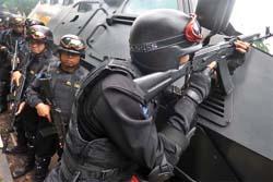 TNI Siagakan Sekompi Antiteror