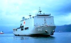 TNI-AL Siagakan Empat KRI di Wasior