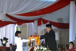 Presiden Pimpin Upacara 17 Agustus