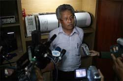Tiga Mikrofon Infrasonik Dipasang di Merapi