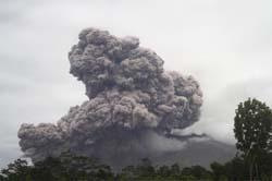 Intensitas Gempa Vulkanik Merapi Meningkat