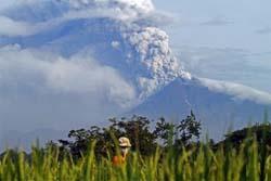 Vulkanolog Jepang Teliti Letusan Merapi