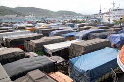 Ratusan Truk Masih Tertahan di Pelabuhan Bakauheni