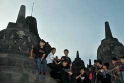 Penemu Patung Kepala Buddha Borobudur Terima Imbalan