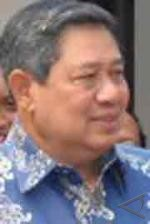 President Yudhoyono enjoys