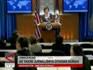 AS Yakini Jurnalisnya Ditahan Suriah