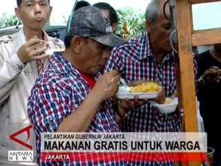 Makanan Gratis Untuk Warga