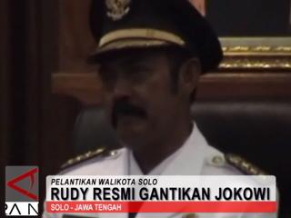 Rudy Resmi Gantikan Jokowi