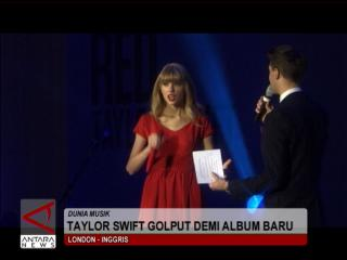 Taylor Swift Golput Demi Album Baru
