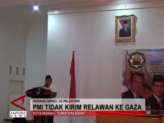 PMI Tidak Kirim Relawan ke Gaza