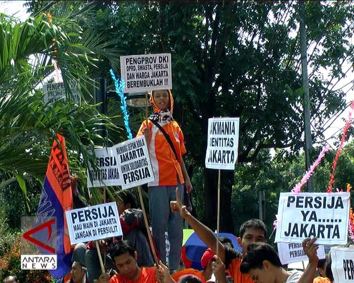 Jakmania Harapkan Gubernur Benahi Persija