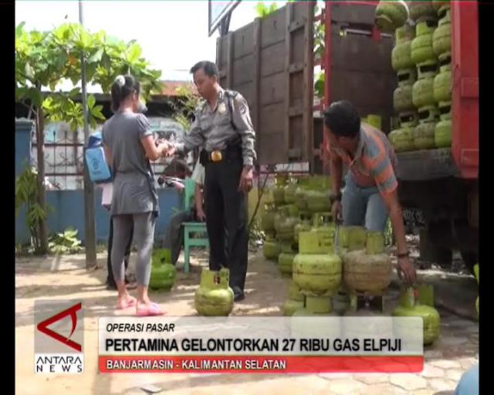 Pertamina Gelontorkan 27 Ribu Gas Elpiji